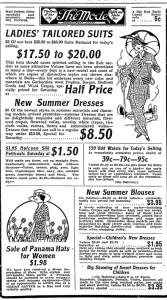 Advertisement from the Idaho Statesman circa May 1914