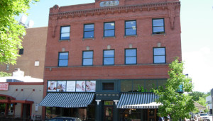 The F.O.E Building today. Photo from OldBoise.com