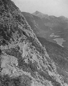 Glacier Switchbacks copyright Fred H. Kiser Portland Oregon.  From here.
