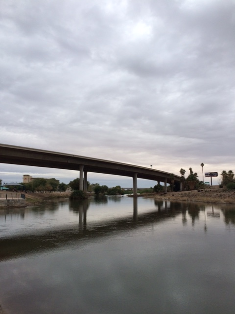 The Colorado River from Gateway Park