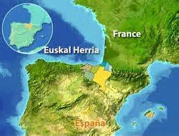 Basque Country - Map
