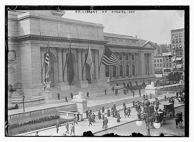 NYPL-opening-day