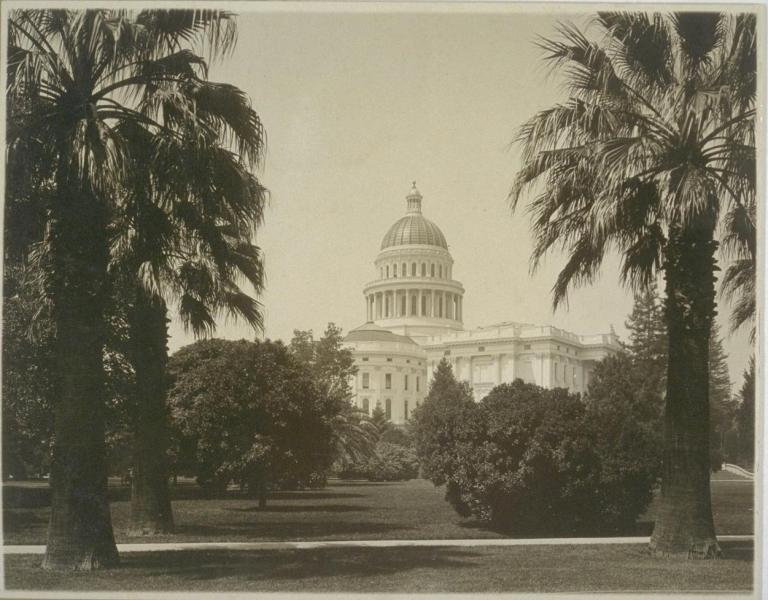 California Capital 1920s